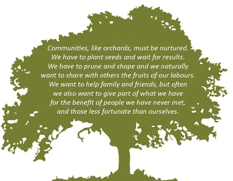 Communities are like orchards
