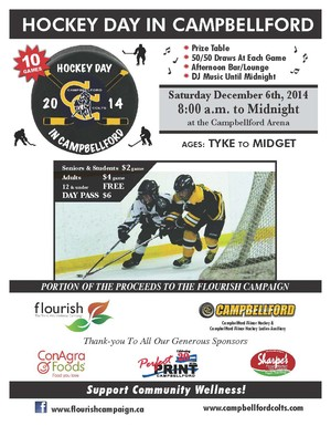 Hockey day in Campbellford